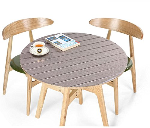 Heiße verkaufende wasserdichte runde PVC-Tischdecke Qualitäts-Blume gedruckt Tischmatte Dekoration Heim Tabelle Abdeckung Eco Friendly , 7 , 60cm (60 Tabelle Dekorationen)
