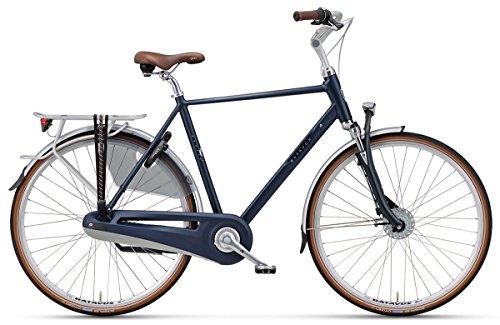 BATAVUS Monaco Herren Holland Fahrrad Citybike 28 Zoll 7-Gang Nabendynamo Blau 57 cm
