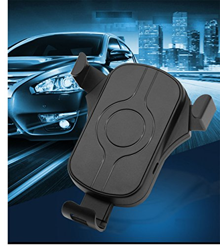 Price comparison product image New creative pasted outlet gravity phone 10W smart quick charge car wireless charger