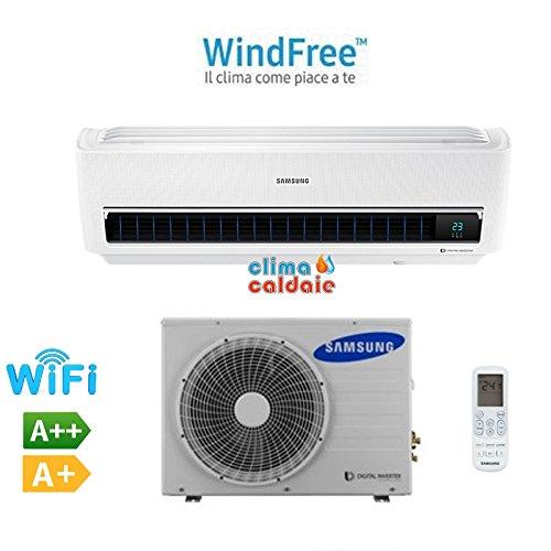 Climatizzatore condizionatore samsung ar9500m windfree 12000 btu a++ 2017 wi-fi inverter ar12mspxbwkneu