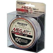 Akami Mega 3nailon monofilamento 200Mt 0.16mm 3,47kg