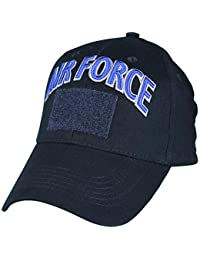 Eagle Crest U.S. Air Force Hook and Loop Patch Baseball Cap. Navy Blue 7a1f85df9efd