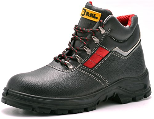 Mens Safety Boots S3 Steel Toe Cap Work Shoes Ankle Leather Steel...