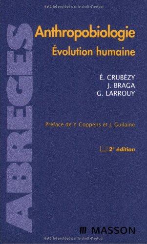 Anthropobiologie - Evolution humaine
