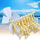 YK Bionic Roboter Strandbeest Modell der Roboter DIY Tools Walker Educational Toy Box