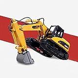 YIXINY Bagger-batteriebetriebener elektrischer RC Fernsteuerungsbau-Traktor des Bagger-15 voller Funktions-RC Bagger mit Lichtern u. Ton