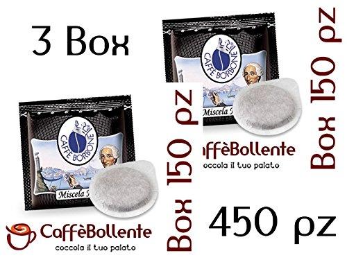 Caffè Borbone - Miscela Nera - Cialde ESE - 450 pz (3x150 pz)