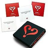 VERTELLIS Kartenspiel für Paare - Spiele für Zeit offline / Spiele für 2 Personen / Geschenk für Männer & Geschenk für Frauen zum Valentinstag oder Jahrestag / Partner Geschenke / Geschenke für Freundin / Geburtstagsgeschenk für Frauen