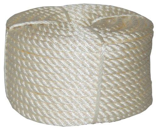 T.w. Evans Cordage 32–033 1/5,1 cm par 100-feet Twisted Corde en nylon Coilette