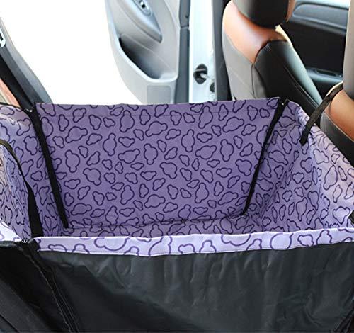 MIAOSHOPING Hundesitz für den Beifahrersitz im Auto Seitenwänden - Gesteppte Sitzfläche & Anti-Rutsch-Beschichtung Extrem Langlebig & Einfach zu Installieren#3 -