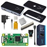 V-Kits Raspberry Pi Zero W Basic Kit with Premium Black Case-EU Plug Edition