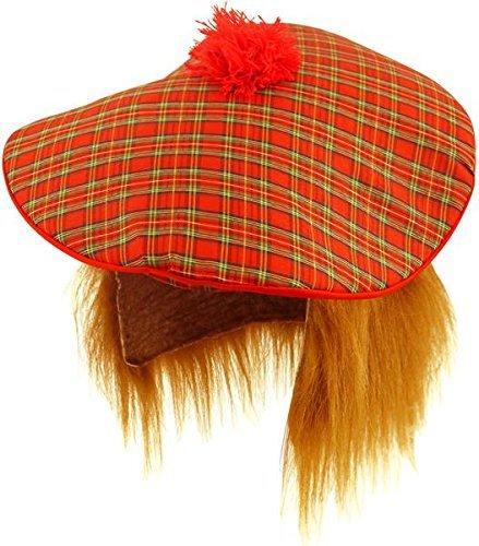 3 x Schottische Hut - Tam O Shanter mit - Tam O Shanter Hut Kostüm
