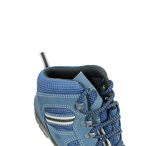 Berner Twister S1 Sicherheitsschuhe Arbeitsschuhe Berufsschuhe Trekkingschuhe Blau Blau