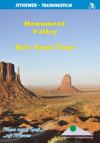 Monument Valley - Dirt Road Tour - FitViewer Indoor Video Cycling USA