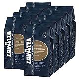Lavazza Kaffee Espresso Crema e Aroma, ganze Bohnen, Bohnenkaffee (9 x 1kg Packung)