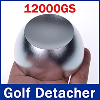 SUNNY-MARKET Super Golf-Detacheur Sicherheit Tag L?ser Golf Umbaudetacheur EAS Tag Remover magnetische Intensit?t 12, 000GS Farbe Silbrig