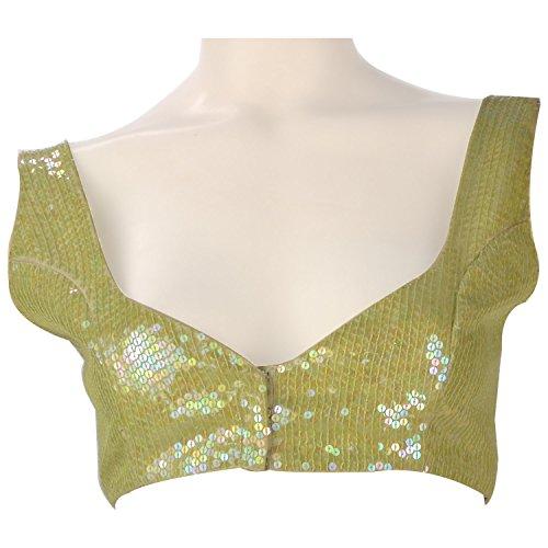 Colhers Womens Silk Cotton Dress Material ,Green ,Medium