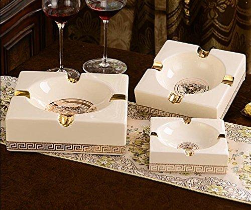 JJ High-End-Luxus Keramik Zigarre Aschenbecher Vintage dekorative Keramik-Ornamente Astray , l