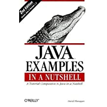 "Java Examples in a Nutshell: A Tutorial Companion to ""Java in a Nutshell"" by David Flanagan (11-Oct-2000) Paperback"