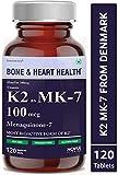 Carbamide Forte Vitamin K2 MK7 100mcg Supplement | Light & Mineral Stable, High