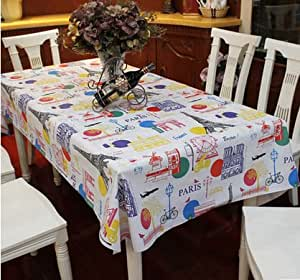Wshwj heat resistant gaicheng gaobu desk cloth waterproof oil proof table cloth plastic - Heat resistant table cloth ...