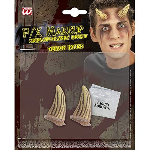 Widmann - Spezial Effekt Set Dämon Hörner
