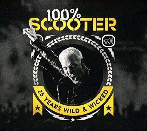 100{0dc2e3913d60a4fca70eedf262152762b5a9b7756bbc6681971c772be7cc96bf} Scooter-25 Years Wild & Wicked (3cd-Digipak)