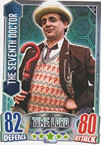 Alien Attax - 215 THE SEVENTH DOCTOR (Time Lord) Individual Trading Card.