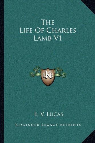 The Life of Charles Lamb V1