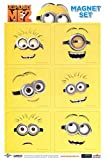 Despicable Me 2 Line Art Minions Magnet Collection