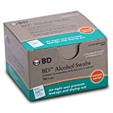 BD Alcohol Swabs 100each (Pack of 2)