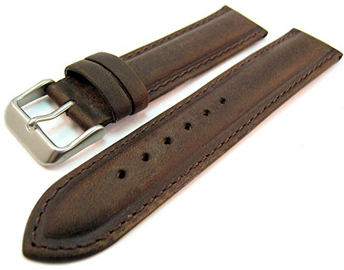 brown-suede-leather-padded-watch-strap-band-20mm