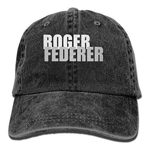 Roger Federer Sombreros Adultos Unisex Fashion Plain