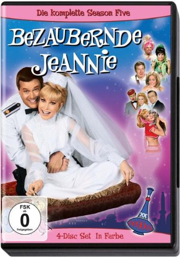 Bezaubernde Jeannie - Die komplette Season Five [4 DVDs]