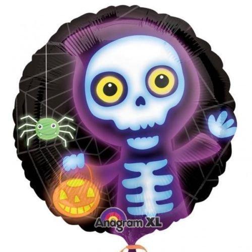 "Halloween Boo Crew Skelett 18"" Folien Ballon"
