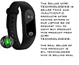 #7: Xiaomi compatible Smart Bracelet Fitband with Heart Rate Monitor OLED Display Bluetooth 4.0 Waterproof Sports Health Activity Fitness Tracker Bluetooth Wristband Pedometer Sleep Monitor Black Waterproof Smart Bracelet | Call Reminder | Clock | Remote camera | Anti-lost Function by SYL