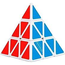 Dodolive Shengshou Pyraminx torcedura Puzzle Cube,White