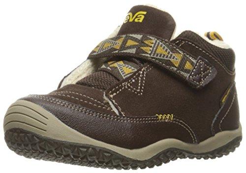 Teva Boys' Natoma Sneaker, Chocolate, 12 M US Little Kid