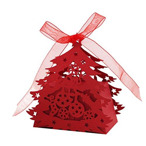 20pz Scatole Di Caramelle Albero di Natale