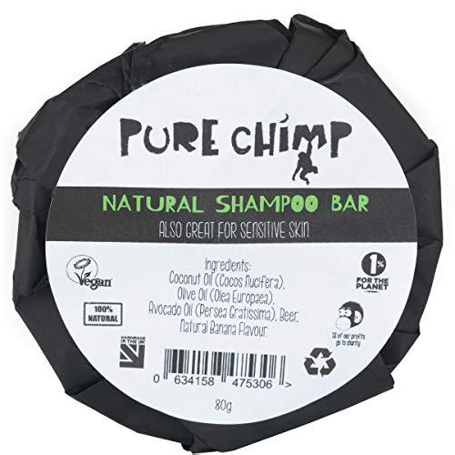 Barra Champú Natural 80g PureChimp - Magia Espumosa
