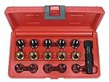 Steckschlüsseleinsätze-Reparatur von Zündkerzen (14x 1,25, 16-teilig