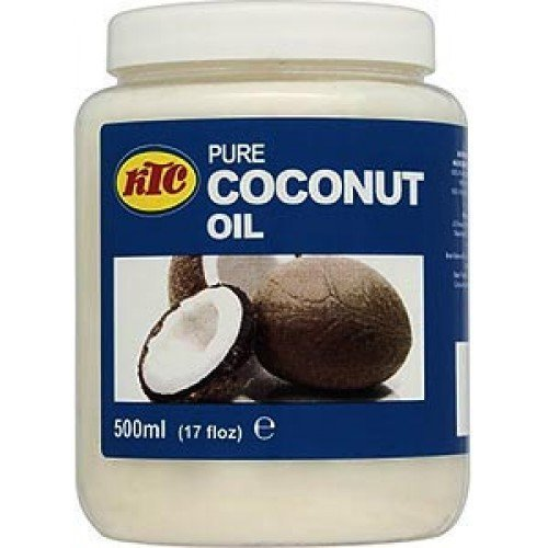 KTC 500ML JAR 100% PURE COCONUT OIL HAIR BODY SKIN OIL CONDITIONER MOISTURIS by KTC