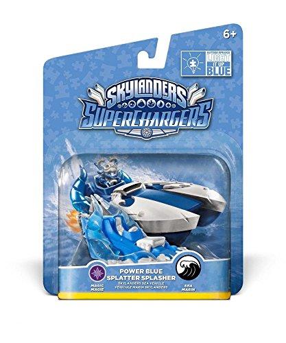 Skylanders SuperChargers: Fahrzeug - Splatter Splasher Blue Deco