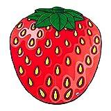 BigMouth Inc Riesige Erdbeer-Stranddecke