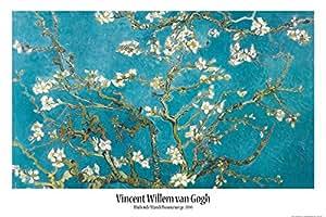 Vincent Van Gogh - Ramo Di Mandorlo In Fiore, 1890 Poster Stampa (91 x 61cm)