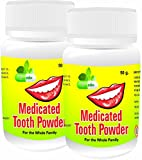 Dherbal Medicated Tooth Powder for Healt...