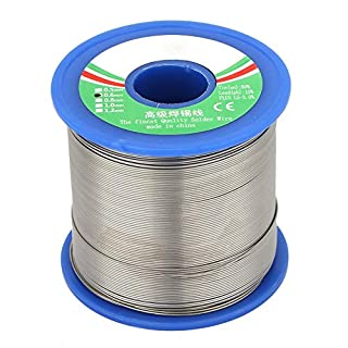 Acogedor 0.6/0.8mm Solder Wire Roll,40% Tin Roll Solder Wire,Strong Soldering Ability, Does not Produce Bad Odor, Toxic Gas,for Electronic Products :LED, Computer, Precision Instrumentation(0.6mm)