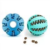 Dewel 2pcs Pelota Perros Maticar Mascotas Pet Ball Juguetes para Mascotas...