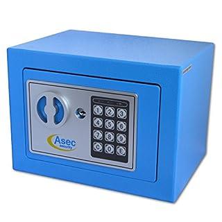 Asec as10489Compact Digitale/Elektronische Tastatur Safe mit £1000Cash/10.000EURO Waren Rating
