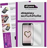 dipos I 6X Schutzfolie klar passend für ZTE Blade A512 Folie Bildschirmschutzfolie